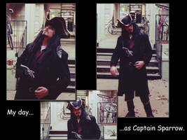 My day as Jack Sparrow by fromthemargin