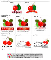 La Cerise - Logo Development by tariqsobh