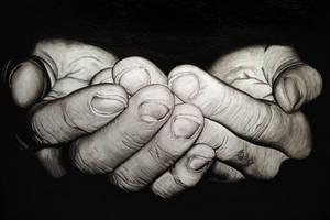 Serving hands by Adam0003