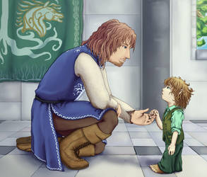 You must be Faramir... by Heartsart