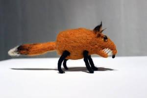 Fox plushie by DoodleWithGlueGun