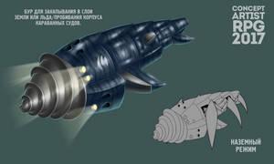 Captain Tychus's submarine by shadowdark95