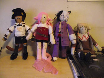 SoAndSewPlushies: My gang ! =D by DisJunctioneD