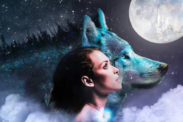 Moon Wolf by LonDiamond