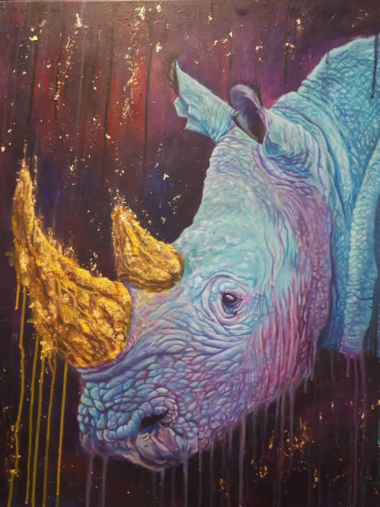 Golden Horns by LonDiamond
