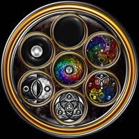 The Grand Mandala Section 1 by ArtOfWarStudios