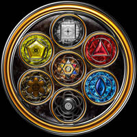 The Grand Mandala Section 2 by ArtOfWarStudios