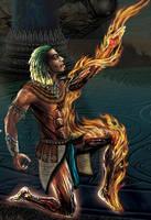 R.O.V: Fire Elemental by ArtOfWarStudios