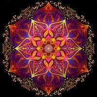 Mandala 001 by ArtOfWarStudios