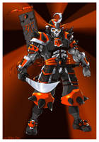 Demon Samurai by megachaos