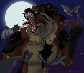 YCH Halloween by LinnyIllustrates