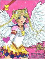 Eternal Sailor Moon. by AsianFlower