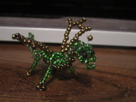 Small Beaded Dragon by Soundstriker