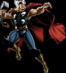 Marvel Avengers Alliance Thor Classic by ratatrampa87