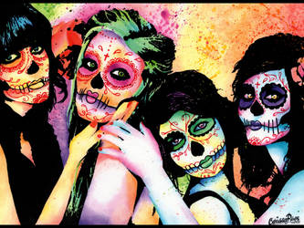 Day of the Dead by misscarissarose
