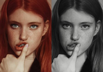 Shadowplay 463: Freckles Colorization by simirae