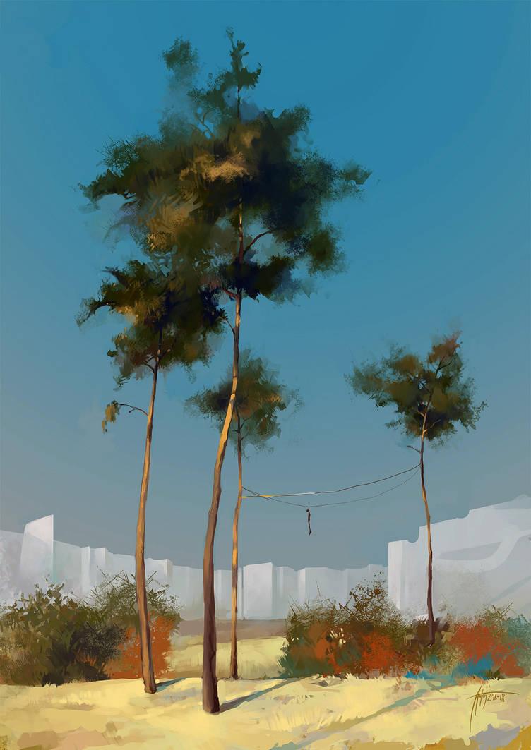 Anton Phoenix - Pine by antonphoenix