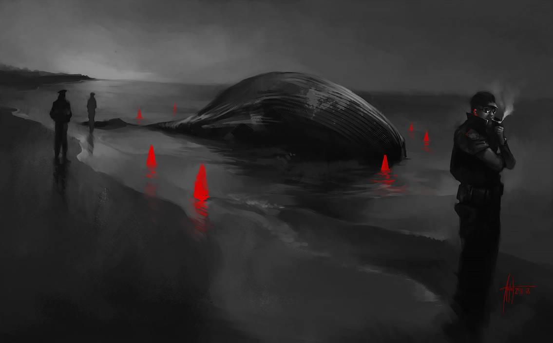 Anton Phoenix - Whales by antonphoenix
