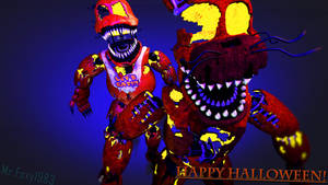 [SFM/FNaF/Halloween] The Jack o's by MrClay1983