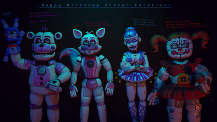 [SFM/FNAF] It's Sister Location's Birthday! by MrClay1983