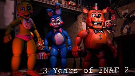 [SFM/FNAF] FNAF 2 is 3 Years Old! by MrClay1983
