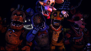 [SFM/FNAF] The FNAF 2 Cast Part 2 by MrClay1983