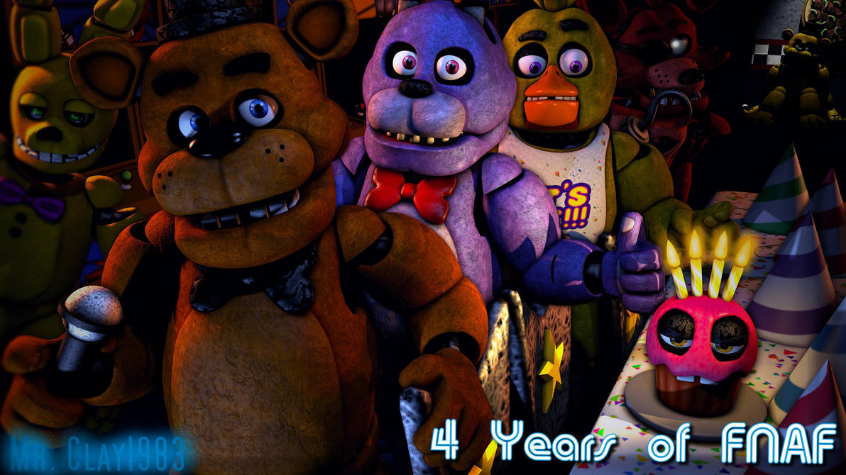 [SFM/FNAF] FNAF's 4th Anniversary thingy by MrClay1983