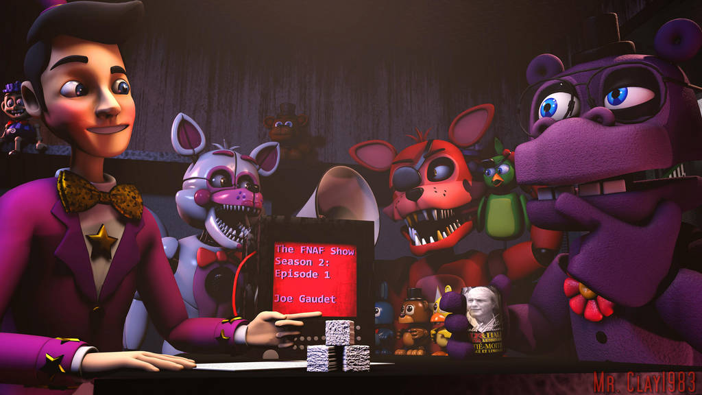 [SFM/FNAF] Dawko Interviews Joe Gaudet by MrClay1983