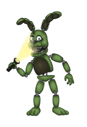 [Drawing/FNAF/Collab Entry] Plushtrap by MrClay1983