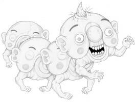 Mortasheen - Dementipede by scythemantis