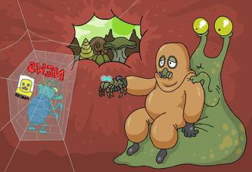 Slime Travel by scythemantis