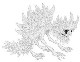 Mortasheen - Thornswaggle by scythemantis