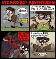 Wizard Boy Adventures by scythemantis