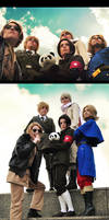 Hetalia Cosplay: The Allies by kaiser-mony