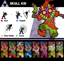 Super Smash Bros. Skull Kid by P-Fritz