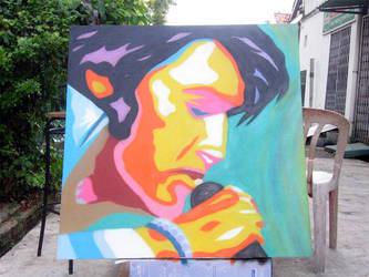 Elvis Presley by Scola