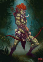Forest Troll by Coinimus