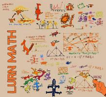 Tigger Tells You to Lurn Math by TedFourSeventeen