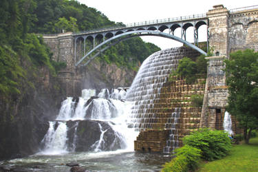 Croton Dam Waterfall by rbwissner
