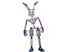 Springlock Endoskeleton by GaboCOart