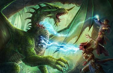 Dragon slayers by JasonEngle