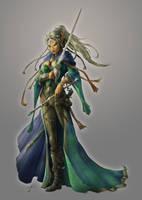Elindria The Enchantress by JasonEngle