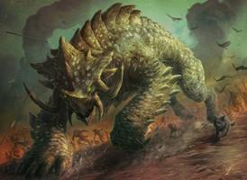 Siege Behemoth by JasonEngle