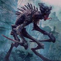 Famished Ghoul by JasonEngle