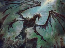 Bone Dragon by JasonEngle