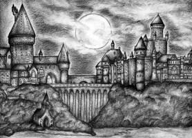 Hogwarts by azparren-victoria