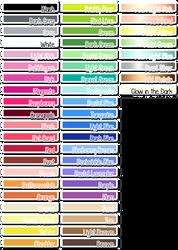 Colour Palettes - Perler+ by PaperJax