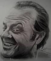 Jack Nicholson by cliford417