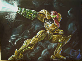 Samus Aran prt1 by cliford417