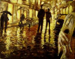 walk in the rain by cliford417
